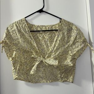 Handmade one of a kind tie top